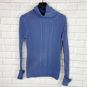 2000s High Sierra ribbed knit turtleneck sweater